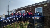 Open  Day - Family and friends at Seasalter